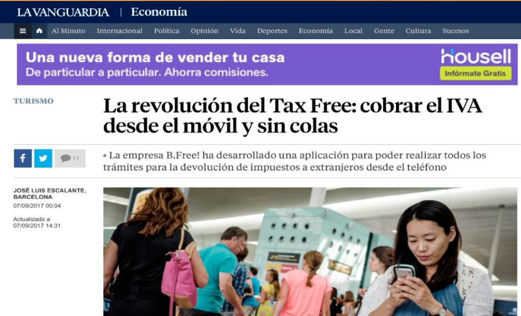 "<a href=""https://www.lavanguardia.com/economia/20170907/431085612355/tax-free-iva-movil.html"" target=""_blank"" rel=""noopener noreferrer""><b>La Revolución del Tax Free</b></a>"